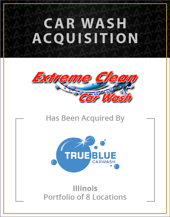 Extreme Clean has been acquired by True Blue Car Wash